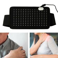 Red LED Light Therapy Waist Wrap Pain Relief Body Care Shoulder Belt Brace