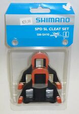 SHIMANO Brand SPD-SL Road Pedal Cleats Fixed - Fit Dura Ace Ultegra: SM-SH10