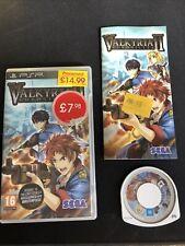 Valkyria Chronicles II - Sony PSP Playstation Portable
