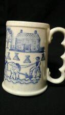 "Metlox Poppytrail Provincial Blue Homestead 5"" Tall Mug"
