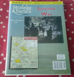 Strategy & Tactics Magazine Decision Games Unpunched #209 Indochina War