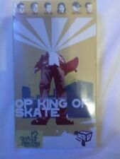 Op King Of Skate New Vhs 6 Pro Skaters 6 Signature Moves Bob Burnquist Tonyhawk