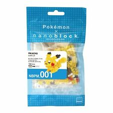 Nanoblocks Pokemon Pikachu   Building Kit 130 Pcs MBPM-001