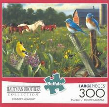 Hautman Brothers Buffalo Games 300Pc Jigsaw Puzzle Country Meadow NIB