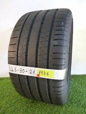 325 30 21 108Y ★ Used Tire Michelin Pilot  Super Sport   84% 8.4/32nds  # P536