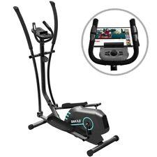 Ellittica Cyclette Allenamento Cardio Fitness Palestra Casa con Supporto Tablet