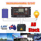 PWM 10/20/30/40/50A Solar Panel Charge Regulator LCD Controller 12/24V AU Stock