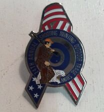 24th Annual Shooting Hunting Outdoor Trade Show 2002 Hunter Dog Target Rifle Pin