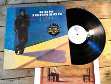 DON JOHNSON HEART BEAT LP 33T VINYLE EX COVER EX ORIGINAL