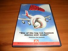 Airplane (DVD, 2000,Widescreen) Robert Hays, Julie Hagerty,Leslie Nielsen Used