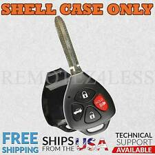 for Toyota 4Runner Avalon Camry Keyless Remote Car Entry Key Fob Shell Pad Case