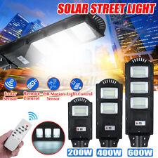200/400/600W 360LED Solar Sensor Street Light Outdoor Commercial IP65