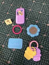 FP Laugh & Learn MY PRETTY LEARNING PURSE REPLACEMENT Lot Keys Credit Card +
