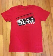 HAPPY HOUR T-shirt Red Medium Never Worn FREE SHIPPING