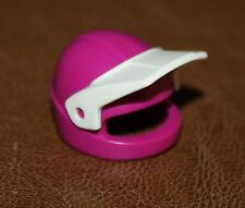 Playmobil chapeau casque violet visière blanche ref nn