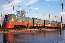 Original Photograph: North Shore Line Electroliner at Illinois Railway Museum
