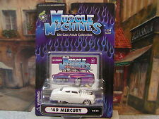 MUSCLE MACHINES 1949 MERCURY COUPE 1:64 DIE-CAST #71161