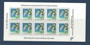 FINLAND - 843 - COMP BKLET - S/A - 1997 - FLOWERS - BIRD CHERRY