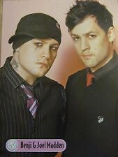 Good Charlotte, Chad Michael Murray, Double Full Page Pinup