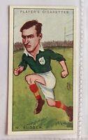 M Sugden Ireland Footballers Caricatures 1926 John Player Cigarette Card (B5)