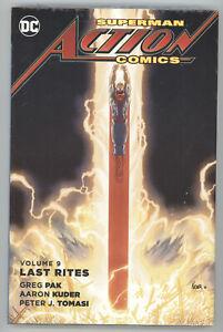 Superman Action Comics Last Rites Vol 9 HC DC NM Sealed 48 49 50 51 New 52