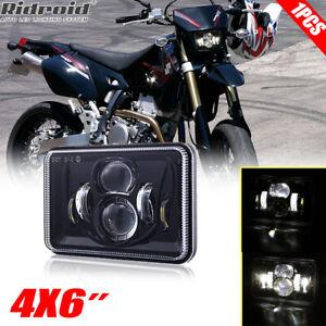 "1pc 4x6"" LED Headlight Hi-Lo Beam White Light For Suzuki DRZ250 DRZ400S DRZ400SM"