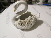 Ornamento en Cerámica Hombres-Calcetines el Cisne Plantador Guantera