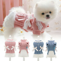 Hundepullover Hundekleid Hundemantel Kleidung für Katzen Kleine Hunde Yorkshire