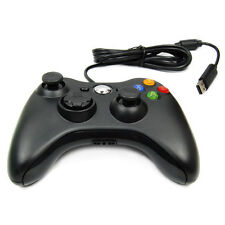 Black USB Wired Game Controller Game Pad for Xbox360