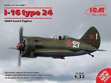 ICM 1/32 I-16 type 24 WWII Soviet Fighter # 32001