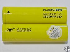 50 PC MXJO IMR 18650 Li-mn Rechargeble Battery High Drain 3.7v 3000mah 35a