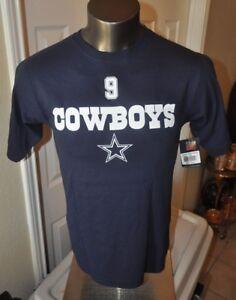 Dallas Cowboys  MENS Tony Romo Men's T-Shirt Jersey shirt S-M New wtih tags