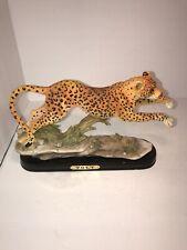 Poly - Running Cheetah Figurine