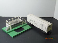 1950's Lionel 3472 Automatic REFRIGERATED Milk Car/Platform,O Scale
