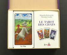 Le Tarot des Chats Cat Tarot Cards Deck by Alejandro Jodorowsky & Gaudin Sealed