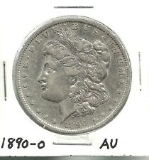 1890-O___MORGAN SILVER DOLLAR___AU__#1253KJ11