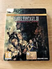 Final Fantasy XII The Zodiac Age, Limited Steelbook Edition, Pal Esp PS4