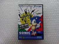 """Sonic The Hedgehog 1 MD """"Good Condition"""" Sega Megadrive Japan"""