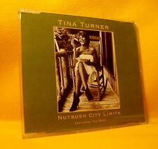 MAXI Single CD Tina Turner Nutbush City Limits (The 90's Version) 4TR 1991 Pop