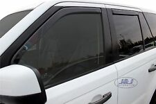 DRO27225 LAND ROVER RANGE SPORT 2005-2013  wind deflectors 4pcs set TINTED HEKO