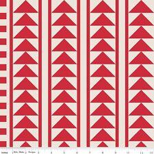 Sashing Stash Flying Geese Eleanor Dugan Riley Blake Designs Fabric C946 Red