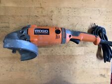 FOR PARTS - Ridgid Angle grinder R10202