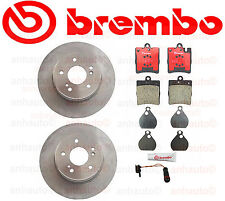 BREMBO  Rear Brake Rotor's & Pads  MERCEDES W202 W203 NEW