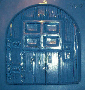 MEDIUM SIZED FAIRY DOOR CHOCOLATE MOULD OR PLASTER MOULD
