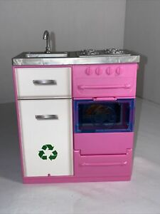 Barbie Dream Kitchen Electronic STOVE & Sink Replacement Part