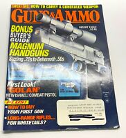 Guns & Ammo Magazine November 1995 Back Issue Magnum Handguns