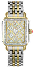 MWW06T000158 | BRAND NEW MICHELE DECO TWO-TONE DIAMOND WOMEN'S WATCH