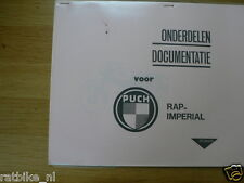R0109 RAP---ONDERDELEN DOCUMENTATIE---RAP IMPERIAL MET PUCH MOTOR-MODEL