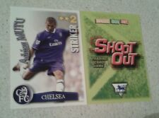 SHOOT OUT CARD 2003/04 (03/04) - Green Back -Chelsea - Adrian Mutu