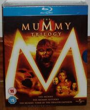 TRILOGIA LA MOMIA THE MUMMY PACK 3 DISCO BLU-RAY NUEVO PRECINTADO (SIN ABRIR) R2